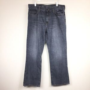 Old Navy   Gray Distressed Bootcut Jeans   36X32